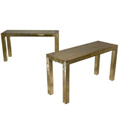 Pair of Dubarry Console Tables