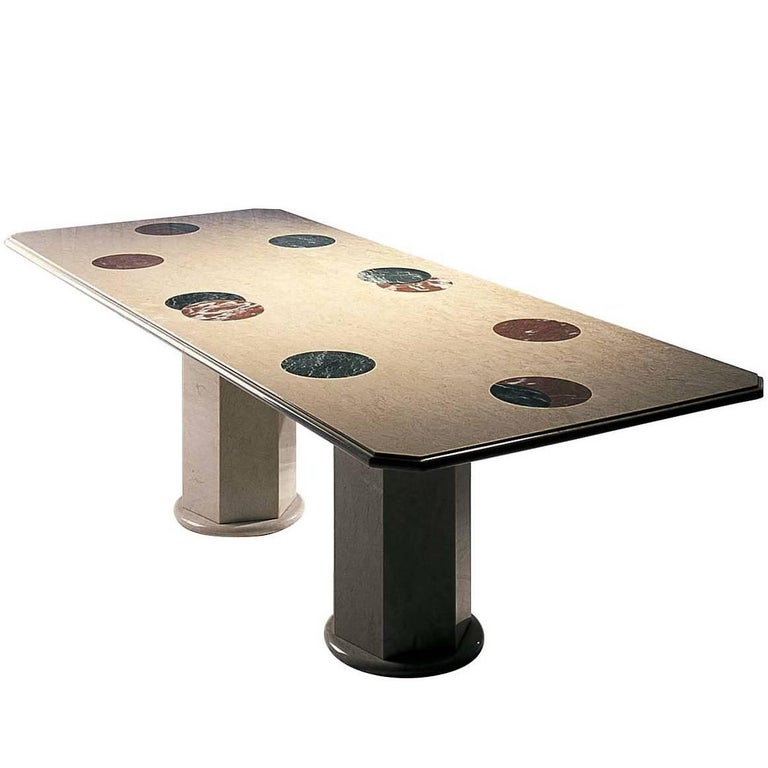 Apparata Table by Adolfo Natalini For Sale