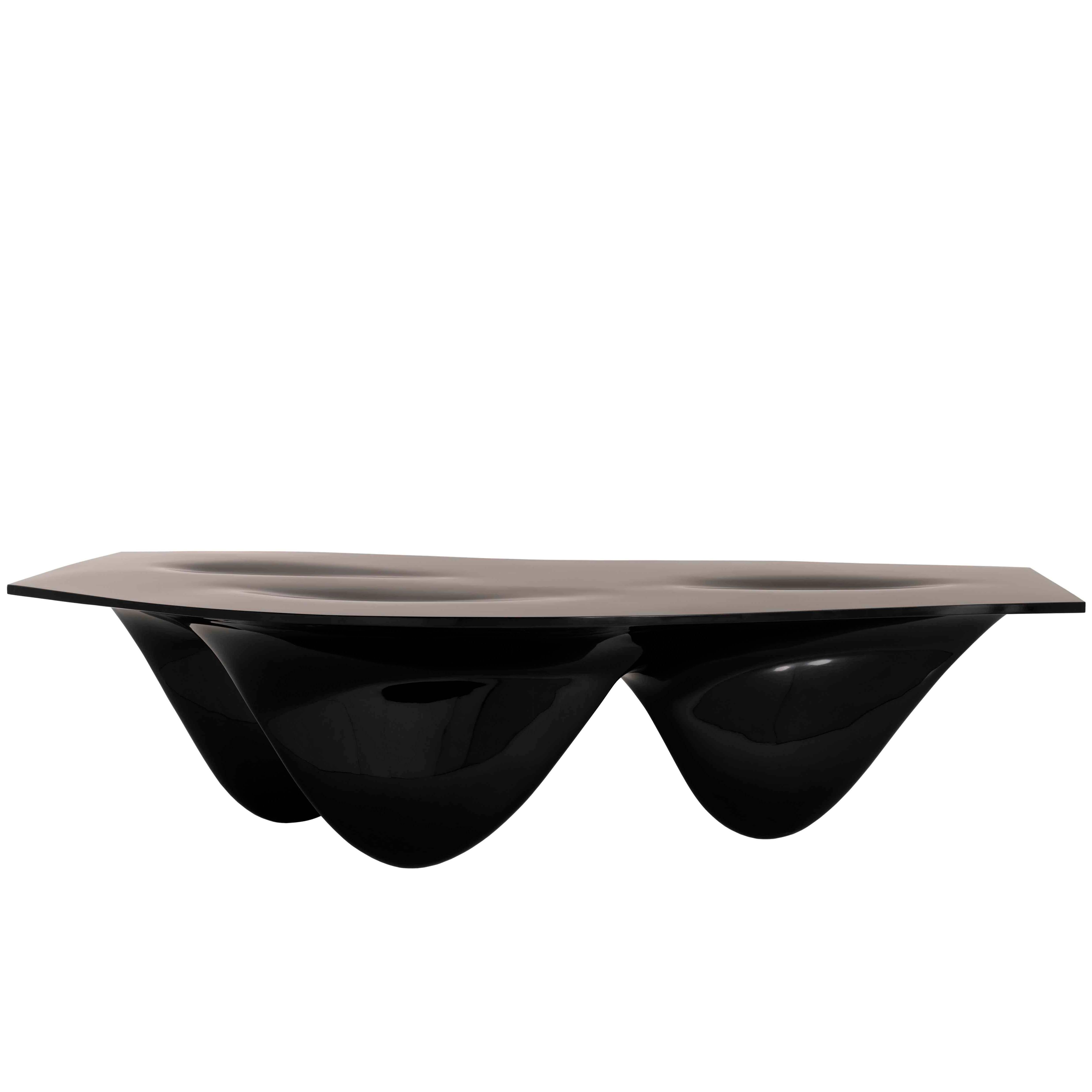 Aqua Table by Zaha Hadid for Established & Sons Signature Collection