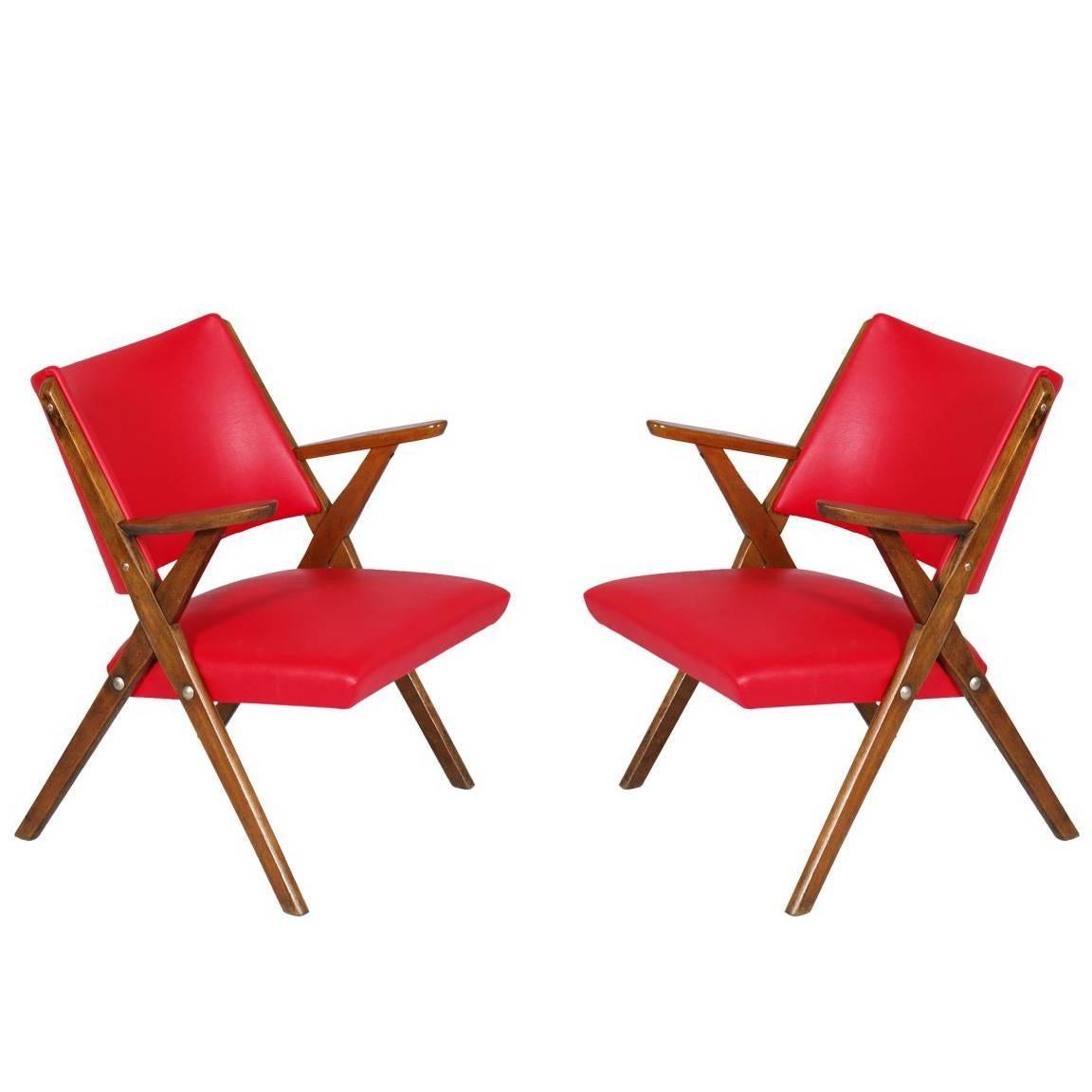 Mid-Century Modern Italy Dal Vera Easy Chair
