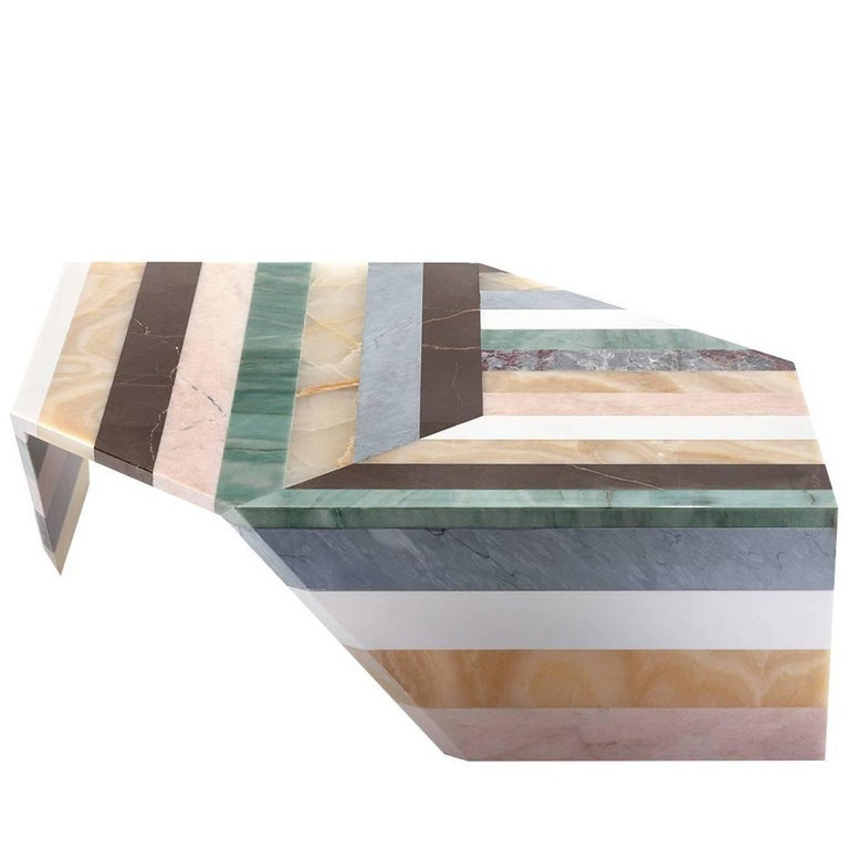 Origami Stripes Living Table by Patricia Urquiola 1