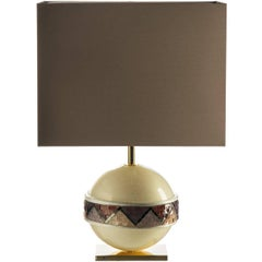 Linea Purple Table Lamp