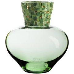 Corona Green Vase