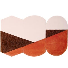 Oci Rug Triptych, Designed by Seraina Lareida