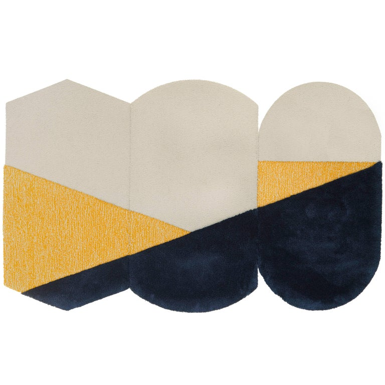 Oci Rug Triptych, Designed by Seraina Lareida For Sale