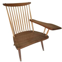 George Nakashima, Walnut Writing Arm Chair