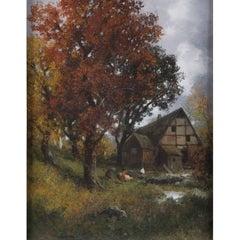 Fall by Adolf Kaufmann, Austria, circa 1890