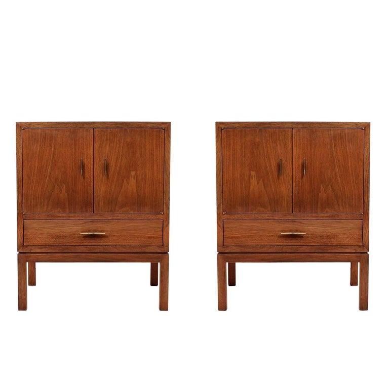 Pair of Nightstands by Edward Wormley for Dunbar