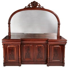 Fantastic Quality Large Victorian Four-Door Sideboard