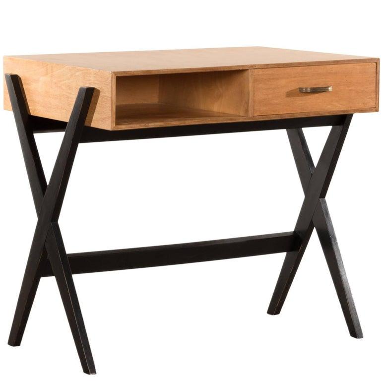 Coen de Vries Small Desk for Devo Netherlands, Vintage Dutch Design
