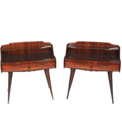Pair of 1950s Italian Nightstands by Paolo Buffa Italy