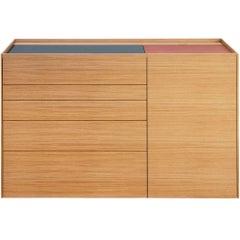 """Brown"" Pc/Laptop Unit Cabinet or Desk Designed by Stephane Lebrun for Dessie'"
