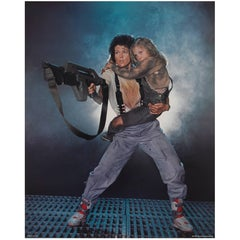 Original Oversize US Production Still for Aliens