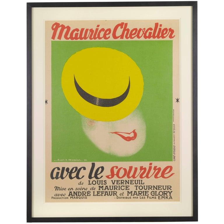Avec Le Sourire / with a Smile For Sale
