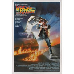 """""""Back to the Future,"""" Original US Movie Poster"""