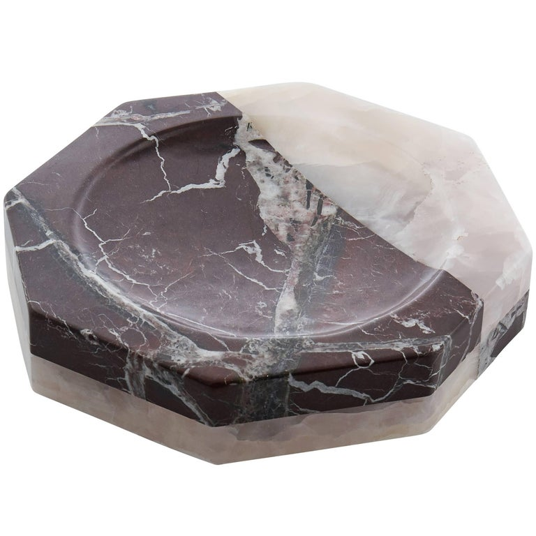 Campbell-Rey Marble and Onyx Vide-Poche