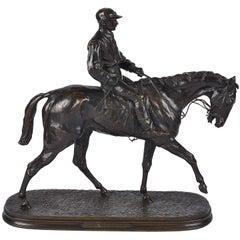 P.J. Mene Jockey on Horseback