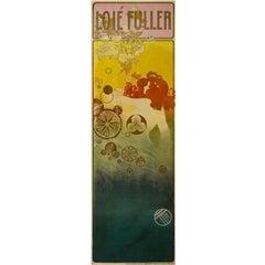 """Orazi Art Nouveau """"Loïe Fuller"""" Lithograph"""