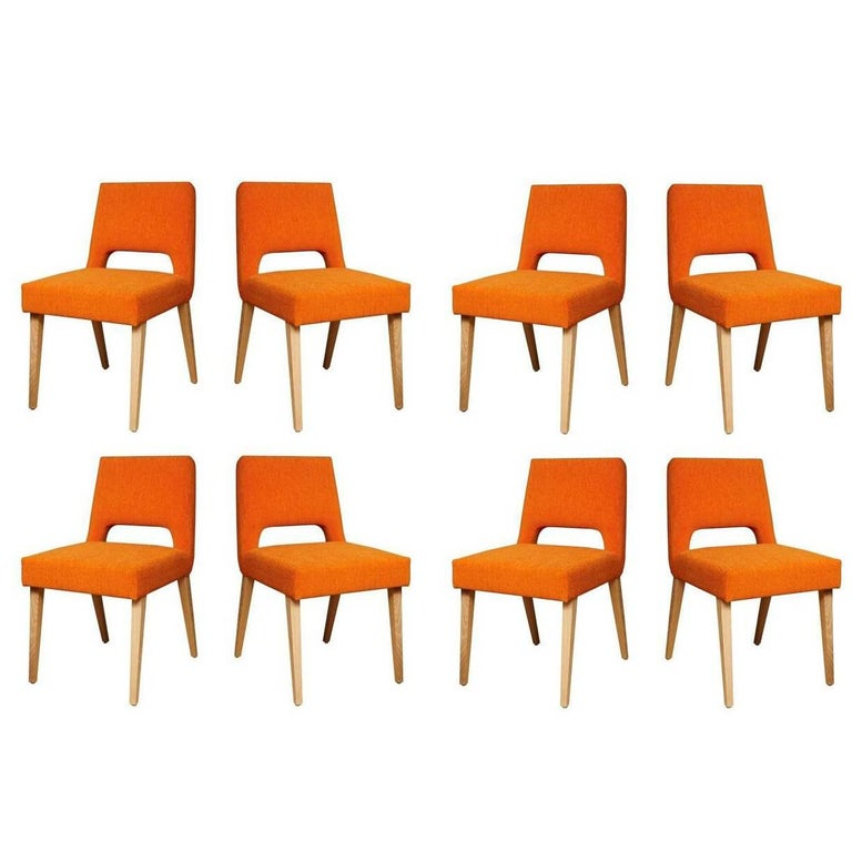 Set of Eight Bailey Dining Chairs