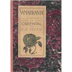 Samarkande, 20 Compositions Dans Le Gout Oriental '20 Pochoir Plates'