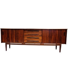 Swedish Cortina Rosewood Sideboard 1960`s by Nils Jonsson, Tröeds Möbelfabrik