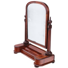 Antique Fine Quality Large Dressing Table Swing Mirror Toilet, circa 1860
