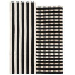 Half Stripe Rug by New Friends