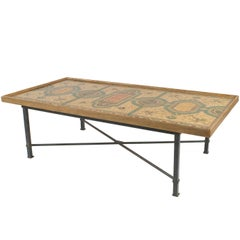 Italian Roman Neoclassic Coffee Table