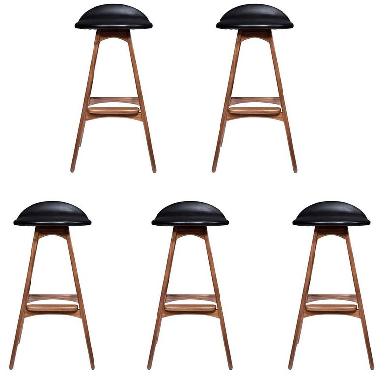 Set of Five Boyd Counter Stools