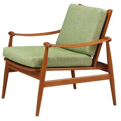 "Finn Juhl ""Spade"" Lounge Chair for France & Søn"