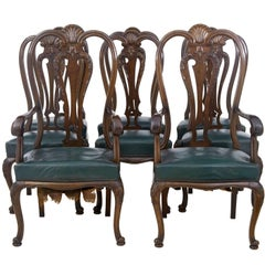 Queen Anne Dining Room Chairs - 32 For Sale at 1stdibs