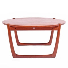Solid Teak Coffee Table by Peter Hvidt & Orla Mølgaard-Nielsen for France & Son