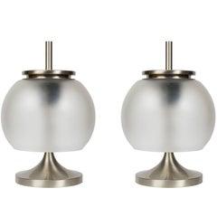 Pair of 1962 Emma Gismondi 'Chi' Table Lamps for Artemide