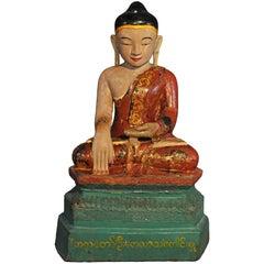 18th Century, Vajrasana Buddha in BhumisparshaMudra, Mandalay Period, Burma