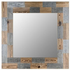 Wood Mirror Lago Scin