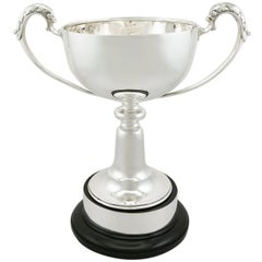 1935 Antique Sterling Silver Presentation Cup