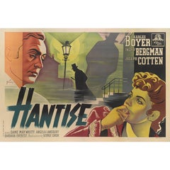 """Gaslight / Hantise"" Original French Movie Poster"