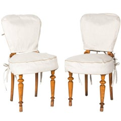 Pair of Austrian Biedermeier Side Chairs, circa 1850