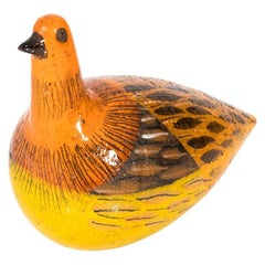 Ceramic Bird by Alvino Bagni for Bitossi