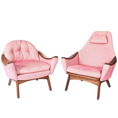 Adrian Pearsall His Her Lounge Chairs