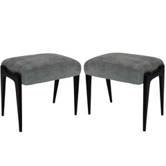 Pair of Stylish Italian Stools