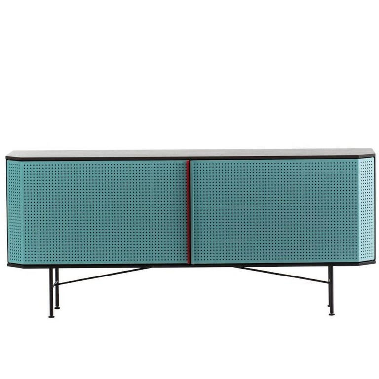 Perf Credenza by Moroso with Diesel in Metal and Wood 1