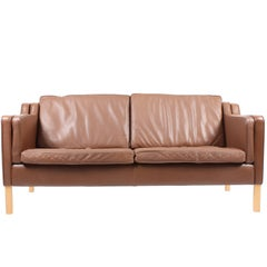 Danish Two-Seat Sofa