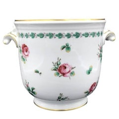Richard Ginori Romantic Plant Pot Hand-Painted Made in Italy