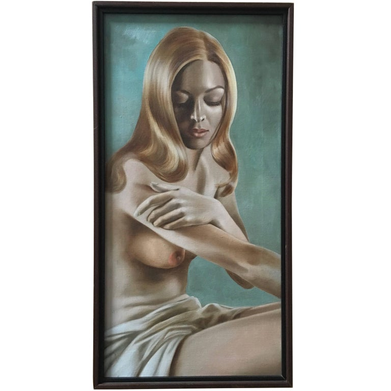 Nude Oil Painting by Lynn Lupetti