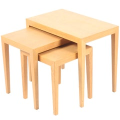 Set of Nesting Tables by Severin Hansen