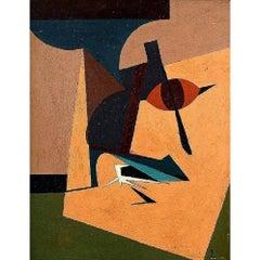 Poul Esting, Composition Listed Danish Artist, 1978