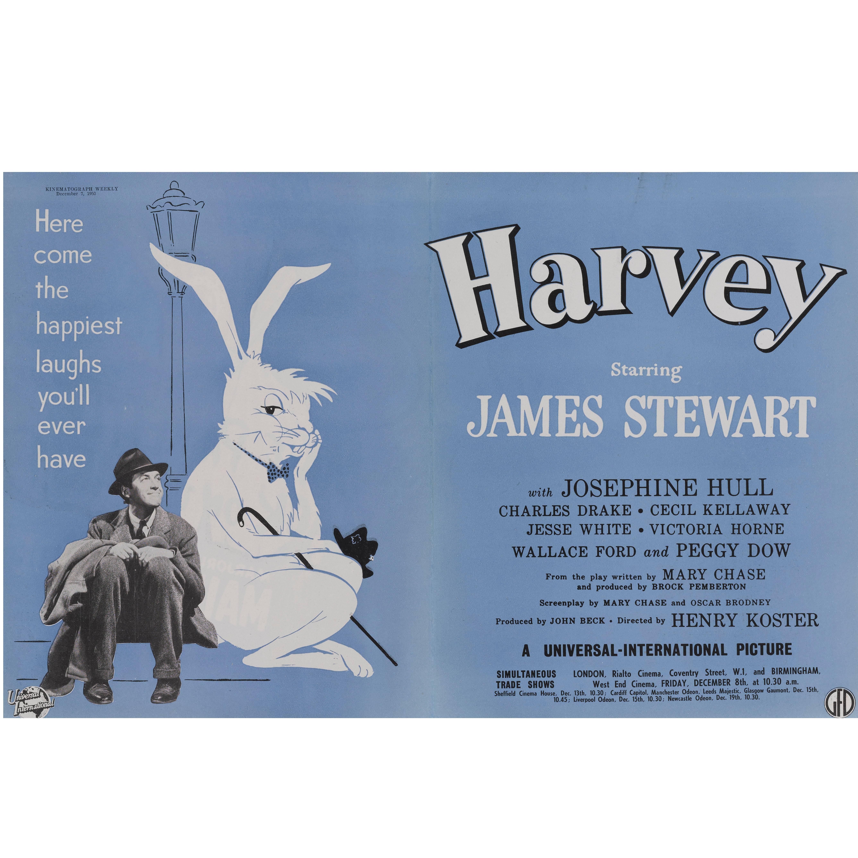 """Harvey"" Original British Trade Advertisement"