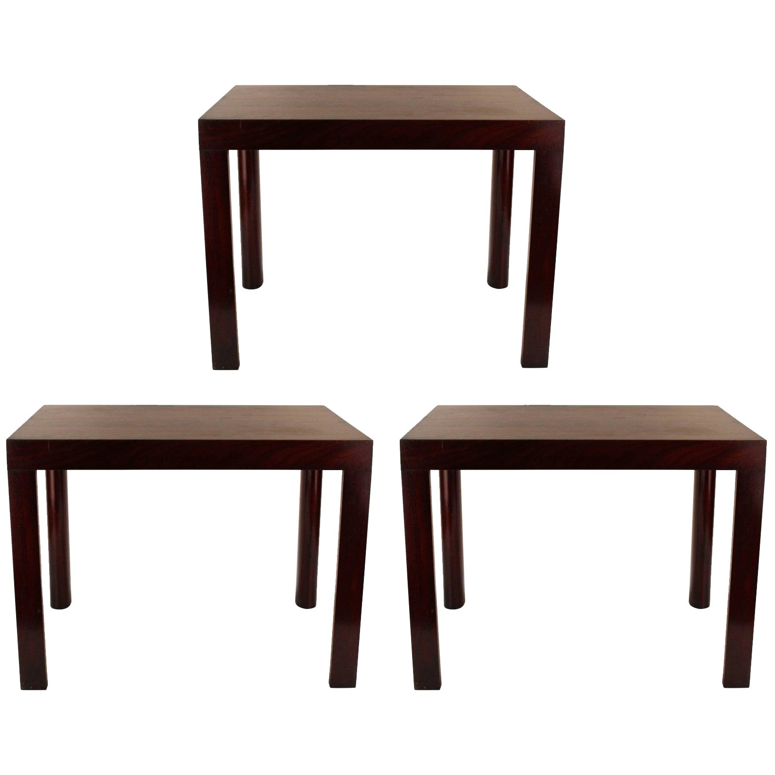 Set of Three Side Tables by Enfield