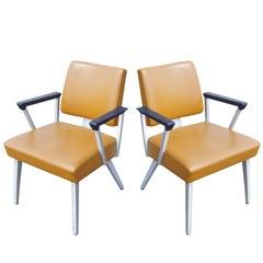Pair of Vintage Midcentury GF Armchairs